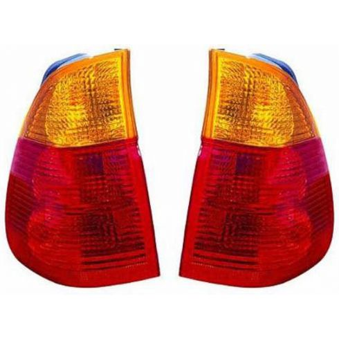 2004-06 BMW X5 Taillight (w/Yellow Indicator) PAIR
