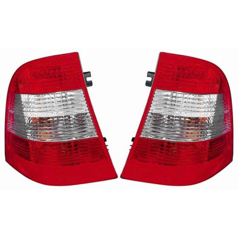 2002-05 Mercedes ML Class Taillight Globe (w/o Smoked Lens) PAIR