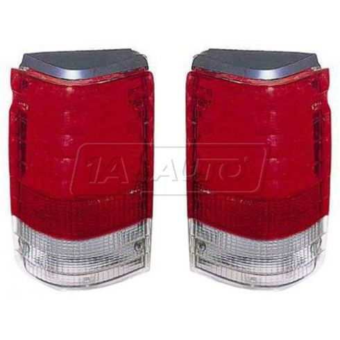 1997 Ford Aerostar (w/o Rear Wiper) Taillight PAIR