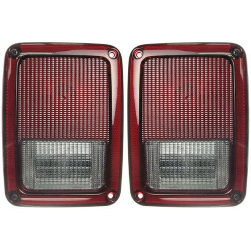 2007-10 Jeep Wrangler Taillight PAIR