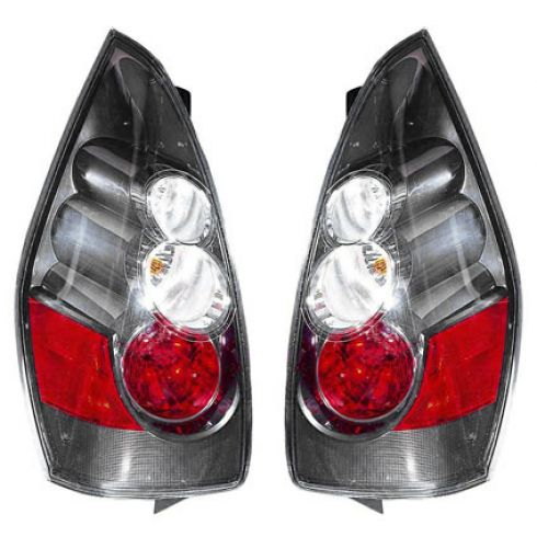 2006 Mazda 5 (w/Silver Background); 07 Mazda 5 (w/Halogen HL) Taillight PAIR