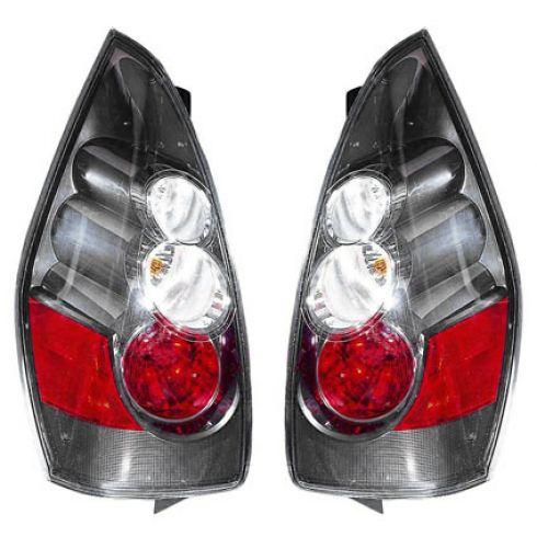 2006 Mazda 5 (w/Silver Background); 07 Mazda 5 (w/Halogen HL) Taillight PAIR