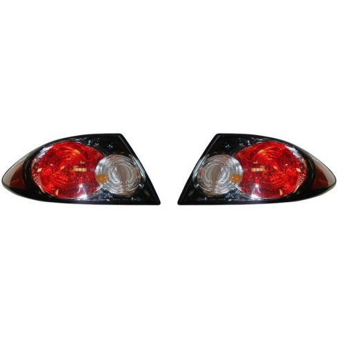 2006-08 Mazda 6 Outer Taillight (w/Black Background) PAIR