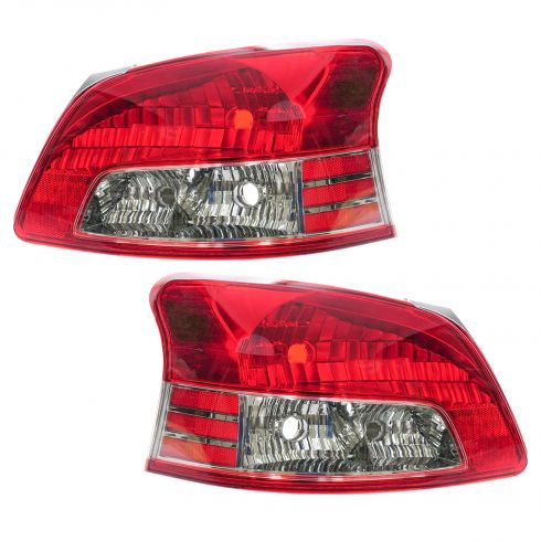 2007-10 Toyota Yaris SDN (S Model) Taillight PAIR