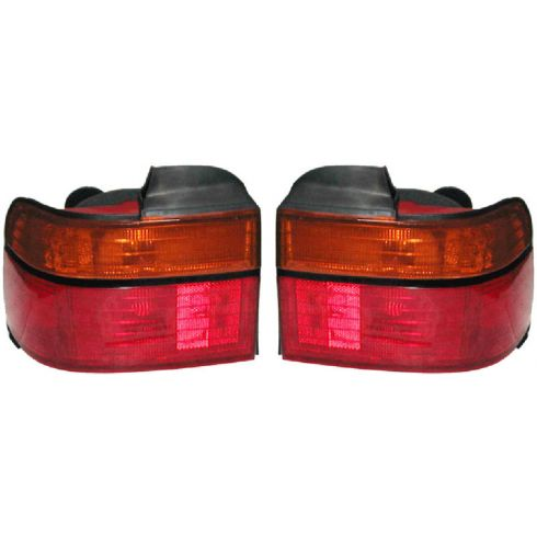 1990-91 Honda Accord Tail Light for Sedan/Coupe Lens and Housing PAIR