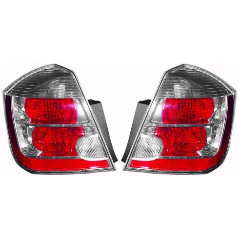 07-08 Nissan Sentra Tail Light 2.0L PAIR