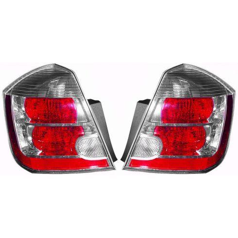 07-08 Nissan Sentra Tail Light 2.0L PAIR