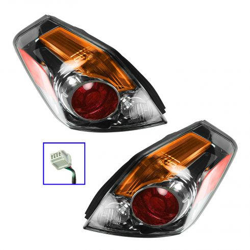 07-09 Nissan Altima 4DR Taillight PAIR