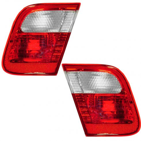99-01 BMW 3 Series Sdn Trunk Mtd Taillight PAIR