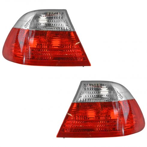 99-03 BMW 3 Series 2DR Coupe Outer Taillight w/Clear PAIR