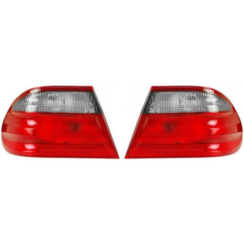 00-02 Mercedes E-Class Sdn w/ Avantgarde Pkg Outer Taillight PAIR