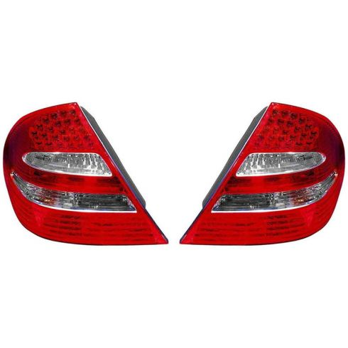 03-06 Mercedes E-Class Sdn w/Avantegarde Pkg LED Taillight PAIR