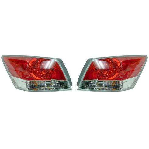 08-10 Honda Accord 4DR Taillight PAIR