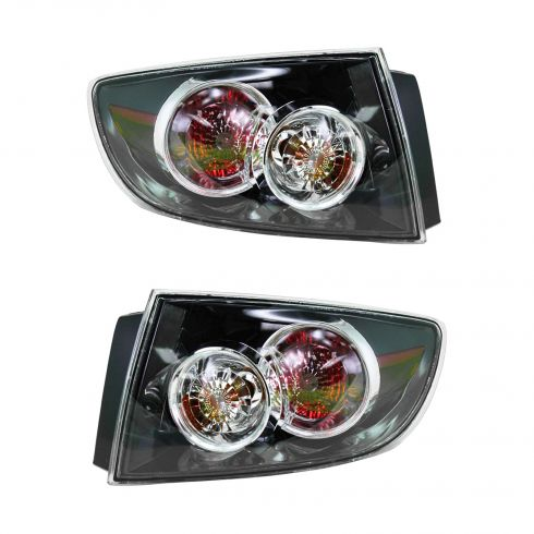 07-09 Mazda 3 4dr (Non LED) Outer Taillight PAIR