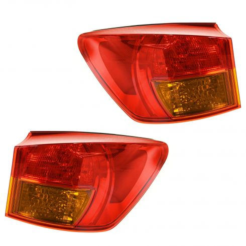 06-08 Lexus IS250 IS350 Outer Taillight PAIR