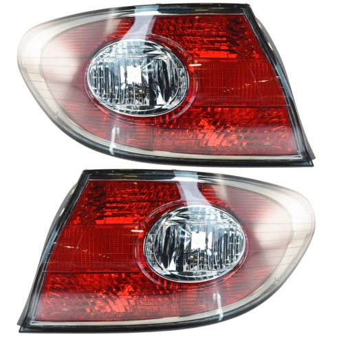 02-03 Lexus ES300 04 ES330 Outer Taillight PAIR