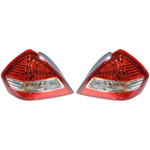 07-10 Nissan Versa Sedan Taillight PAIR