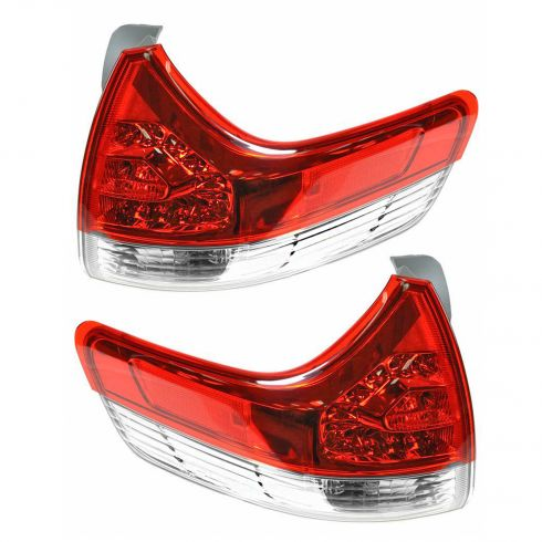11 Toyota Sienna LE, XLE Outer Taillight PAIR