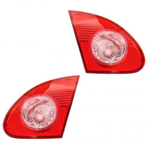 03-08 Toyota Corolla Inner Taillight (Trunk Mtd) PAIR