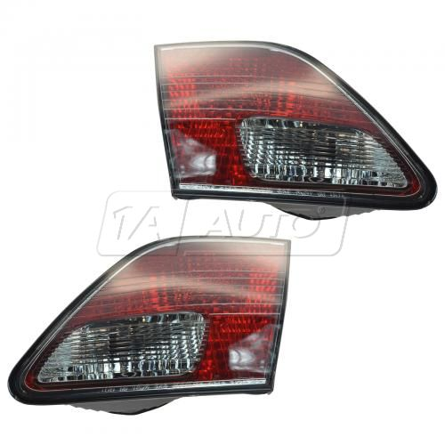 02-03 Lexus ES300; 04 (thru 5/04) ES330 Inner Taillight (Trunk Mtd) PAIR