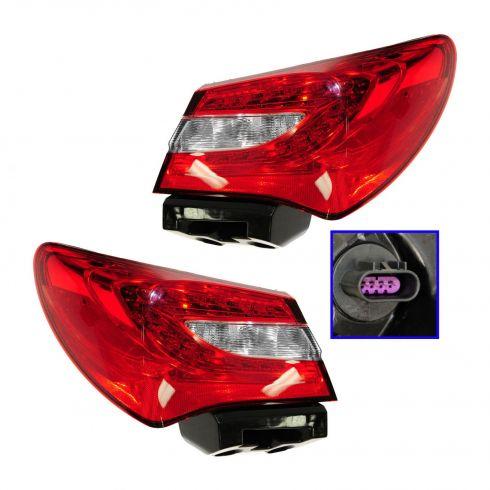 11-12 Chrysler 200 Sedan Taillight RH