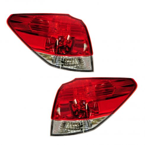 10-13 Subaru Outback Sedan Outer Taillight PAIR