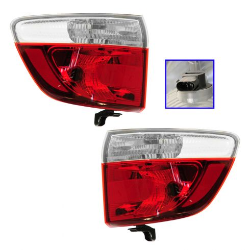 11-12 Dodge Durango Outer Taillight PAIR