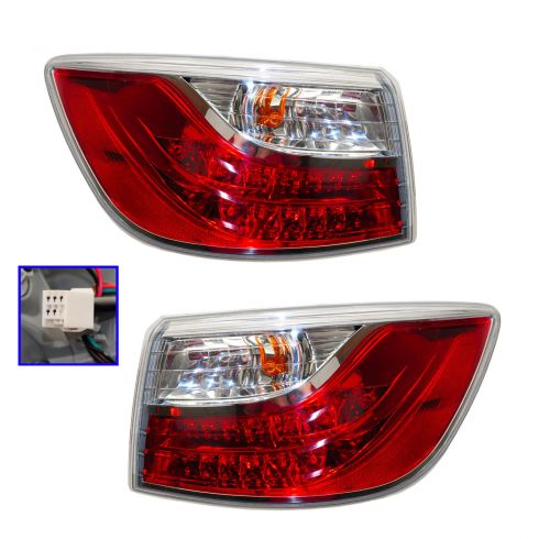 10-12 Mazda CX-9 Outer Taillight PAIR (OE)