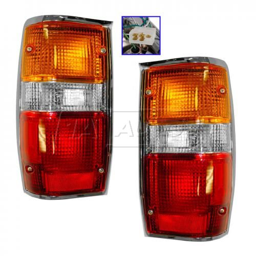 1987-93 Mitsubishi Pickup Dodge  D50 Tail Light PAIR