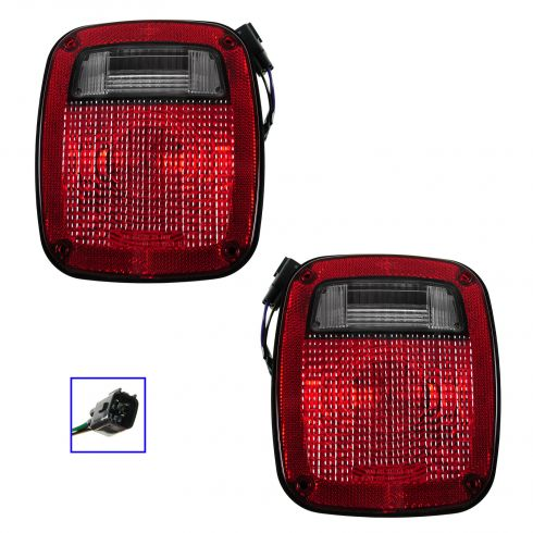 98-06 Jeep Wrangler Taillight PAIR