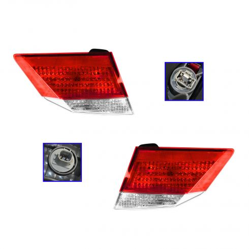 13 Honda Accord Sedan Reverse & Inner Taillight PAIR