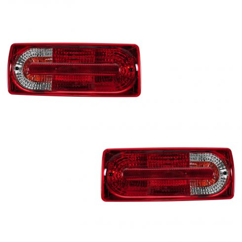 06 (from 12/23/06)-08 MB G500; 09-12 G550; 06 (from 12/23/06)-12 G55 AMG Upper Taillight PAIR