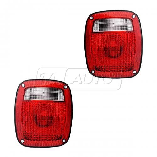 1977-82 GM Ford Dodge Med Duty Tail Light PAIR