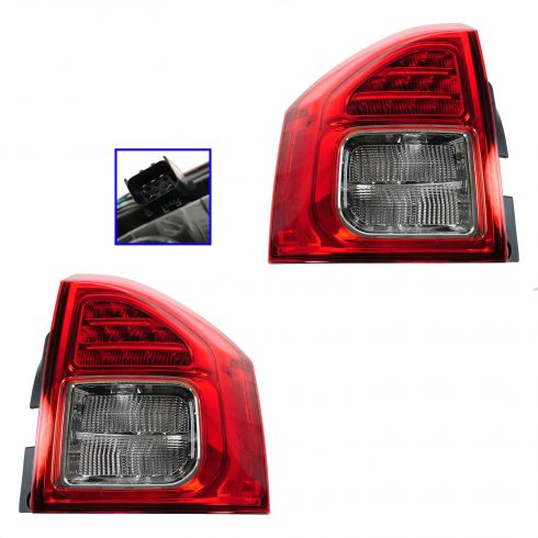 11-13 Jeep Compass Taillight PAIR