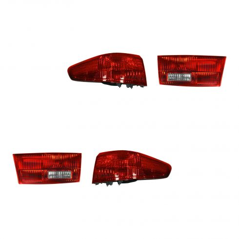 2005 Honda Accord Sedan Inner & Outer Tail Light SET