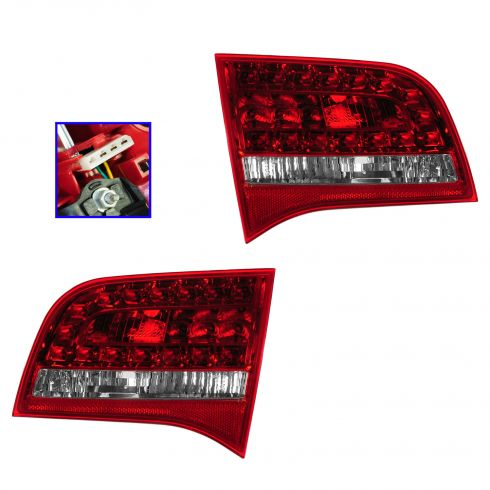 09-11 Audi A6, S6 SW Inner Reverse/Taillight PAIR