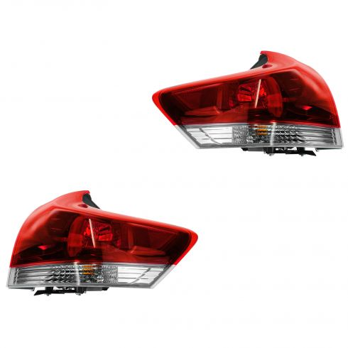 13 Toyota Venza Outer Taillight PAIR