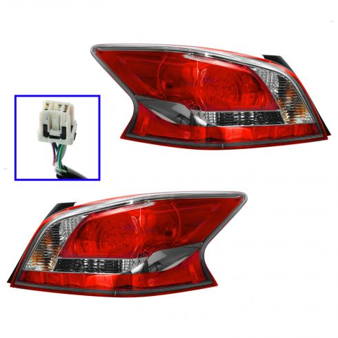 13 Nissan Altima Sedan LED Taillight PAIR