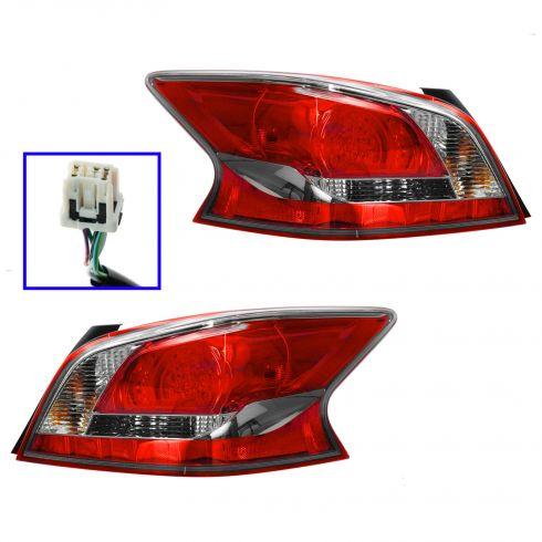 13 Nissan Altima Sedan LED Taillight PAIR
