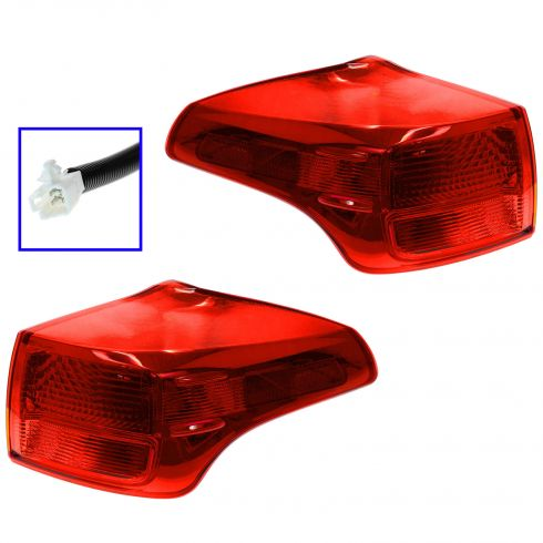 13 Toyota Rav4 (Japan Built) Outer Taillight PAIR
