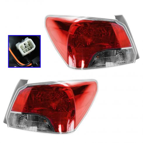 12-13 Subaru Impreza Sedan w/2.0L Taillight PAIR