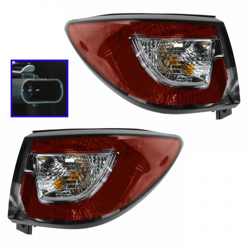 13-14 Chevy Traverse Outer Taillight PAIR