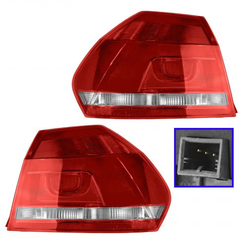 12-14 VW Passat Outer Taillight PAIR