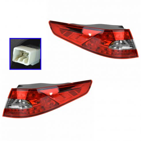 11-13 Kia Optima SX; 13 Optima EX, SXL LED Outer Taillight PAIR