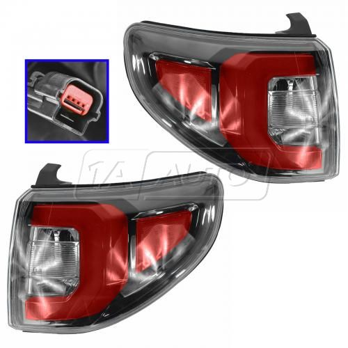 13-14 GMC Acadia Outer Taillight PAIR