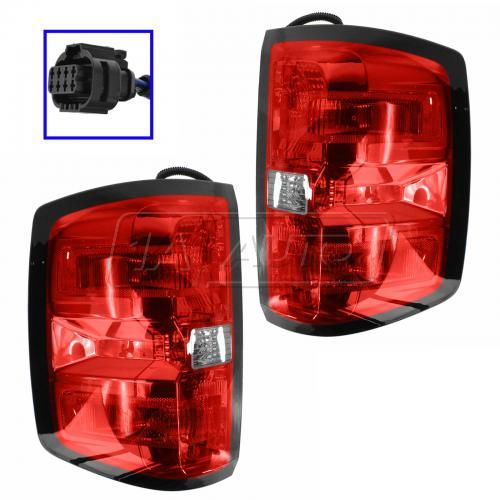 14 Chevy Silverado 1500, 2500, 3500 Taillight PAIR
