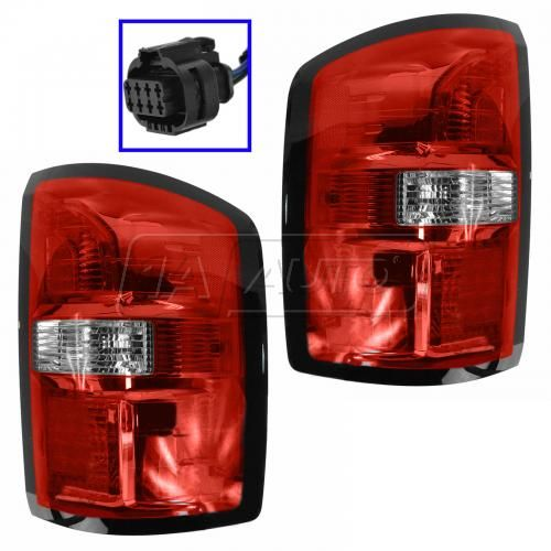 14 GMC Sierra 1500, 2500, 3500 Taillight PAIR