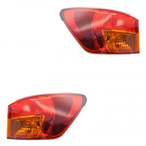 06 (from 3/03) 07 -08 Lexus IS250 IS350 Outer Taillight Pair