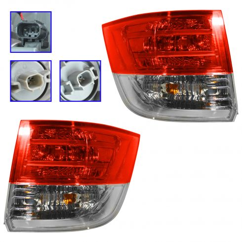 14 Honda Odyssey Outer Taillight PAIR