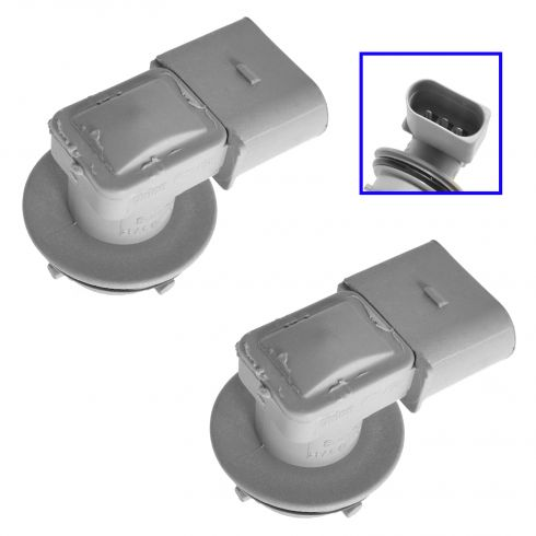 98-10 VW Beetle Tailight; 98 (from VIN W125860)-03 Eurovan (3 Pin) Front Turn Sig Socket PAIR (VW)